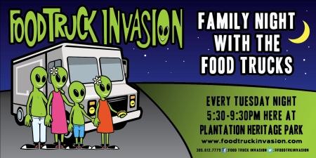 Food Truck invasion FamilyNight