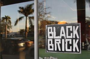 Black brick restaurant