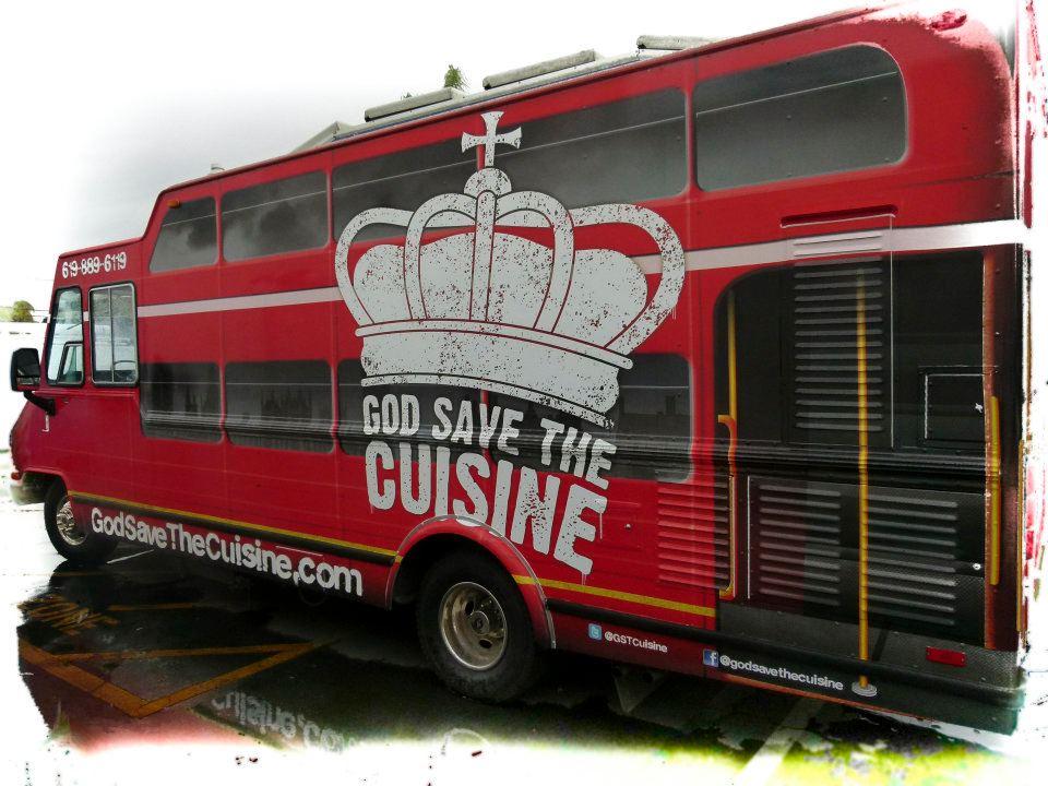 God Save The Cuisine truck