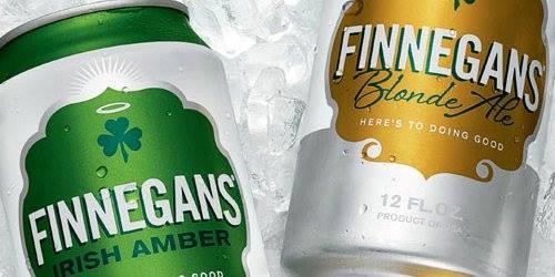 Finnegan's irish Amber and Blonde Ale