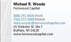 Fernwood Capital Michael woods