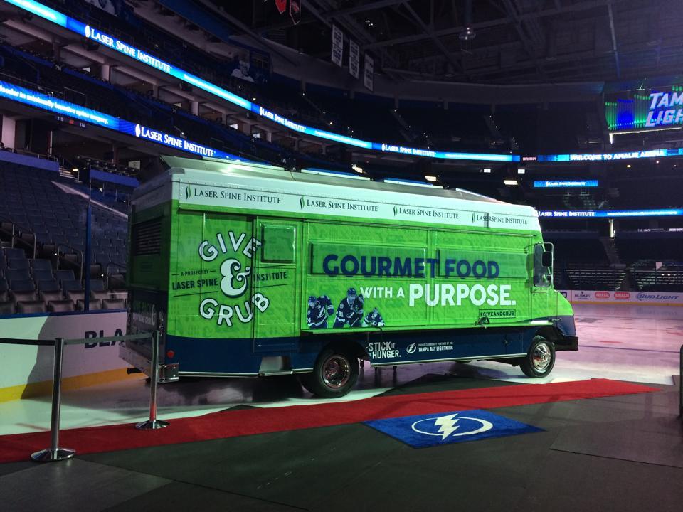 Give & Grub food truck