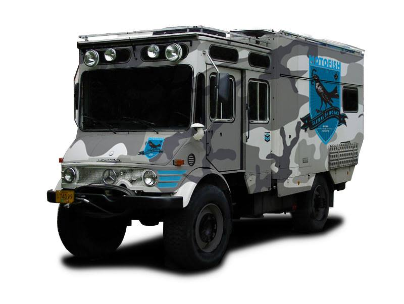 Make Way For The Motofish Coffee Truck